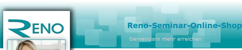 hot sale online b5a33 e78a3 Reno-Seminar-Online-Shop